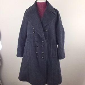 Marc by Marc Jacobs Gray Pea Coat